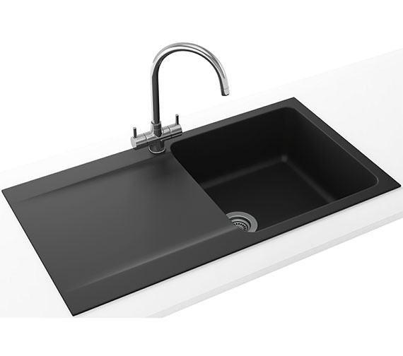 Additional image of Franke Orion Propack OID 611-94 Tectonite Polar White Finish Kitchen Sink And Tap