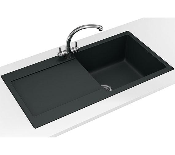 Additional image of Franke Maris Propack MRG 611 Fragranite Polar White Finish Kitchen Sink And Tap