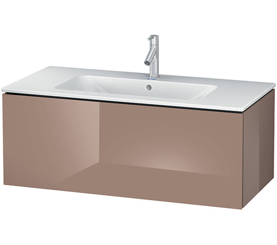 Alternate image of Duravit L-Cube 1020mm Wall Mounted Vanity Unit With Me By Starck Basin