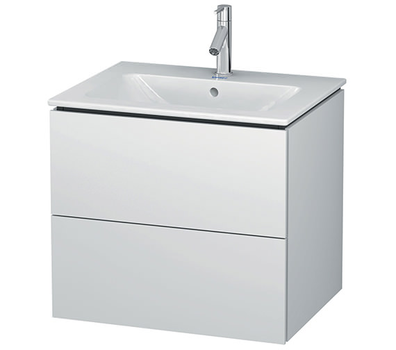 Duravit L-Cube Wall Mounted 2 Drawers Vanity Unit For Me By Starck Basin