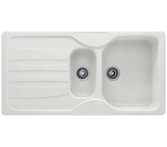 Additional image of Franke Calypso COG 651 Fragranite 1.5 Bowl Coffee Finish Kitchen Inset Sink