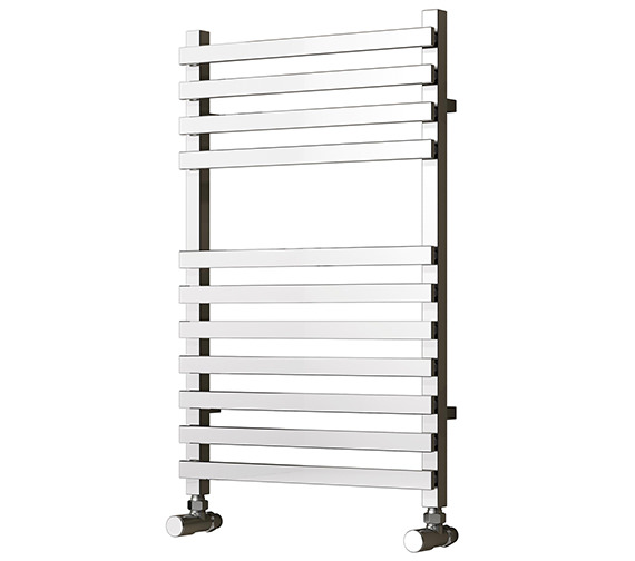 Reina Carina 500 x 800mm Chrome Steel Designer Radiator - More Heights Sizes Available