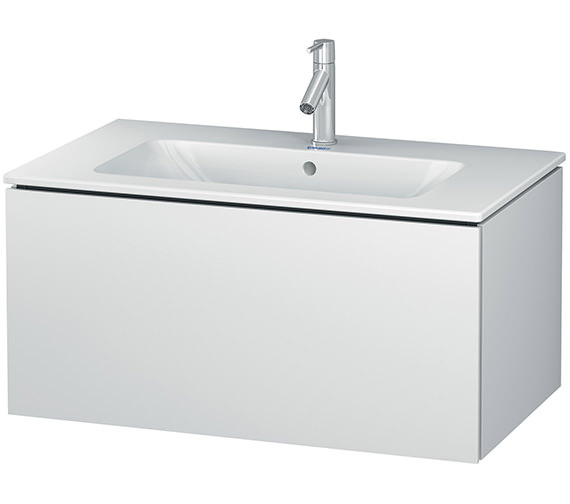 Duravit L-Cube 820mm Wall Mounted Vanity Unit With Me By Starck Basin