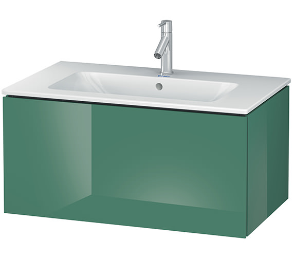 Alternate image of Duravit L-Cube 820mm Wall Mounted Vanity Unit With Me By Starck Basin