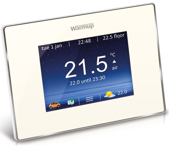Alternate image of Warmup 4iE Smart Wifi Thermostat