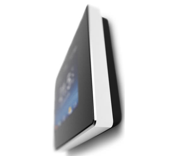 Additional image of Warmup 4iE Onyx Black Smart Wifi Thermostat - Bright Porcelain Finish Optional