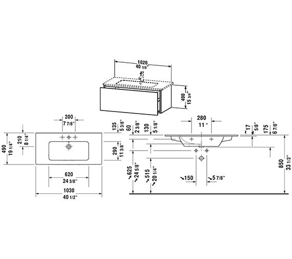 Technical drawing QS-V63334 / LC614201818