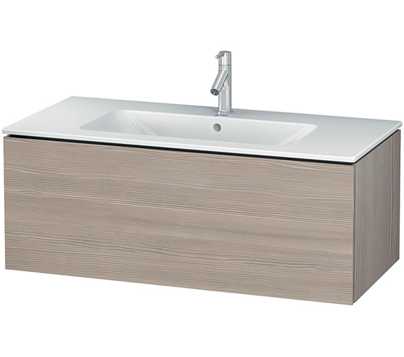 Additional image of Duravit L-Cube 1020mm Wall Mounted Vanity Unit With Me By Starck Basin