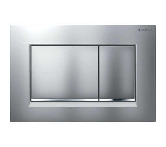 Alternate image of Geberit Sigma30 246 x 164mm Dual Flush Plate White Gloss Chrome