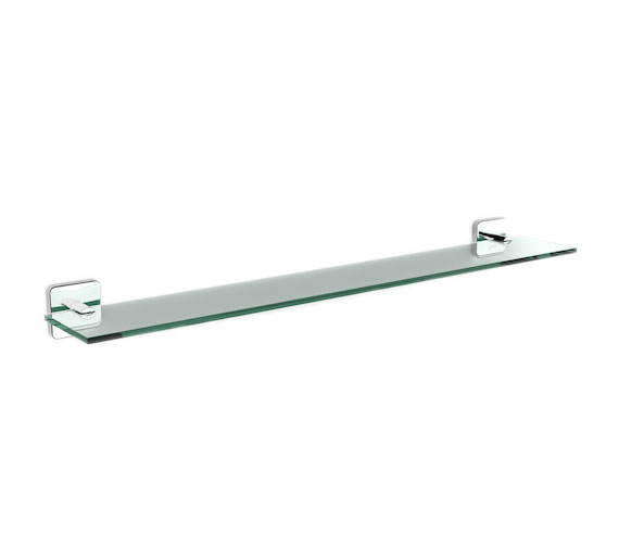 Roca Victoria 600 x 108mm Glass Shelf