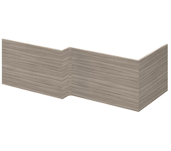 Lauren Athena 700mm Square End Bath Panel Driftwood Finish