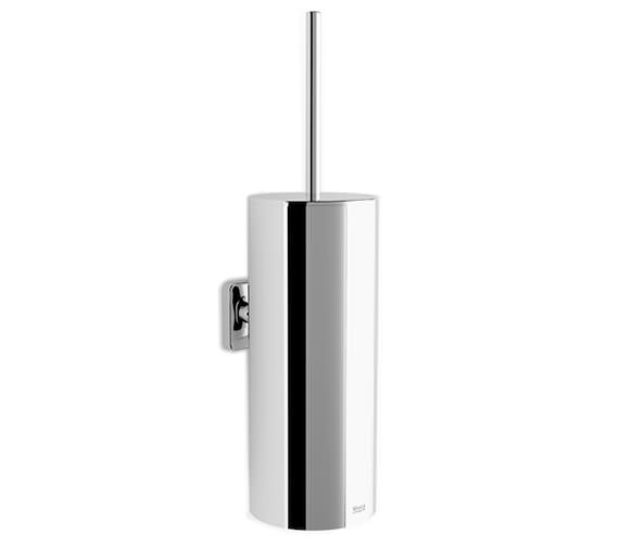 Roca Victoria Contemporary Wall Mounted Toilet Brush And Holder 90 x 113mm