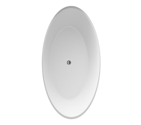 Hudson Reed Grace 1510 x 760mm Round Freestanding Bath
