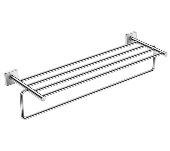 Roca Victoria 625 x 198mm Towel Rack With Towel Rail