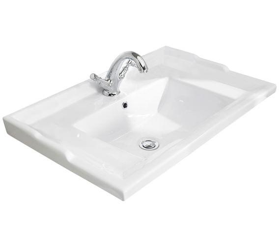Bayswater Traditional Washbasin With Overflow