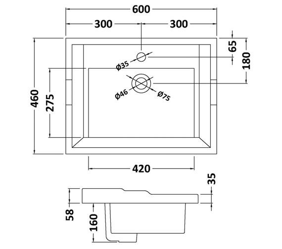 Technical drawing QS-V42365 / BAYC201
