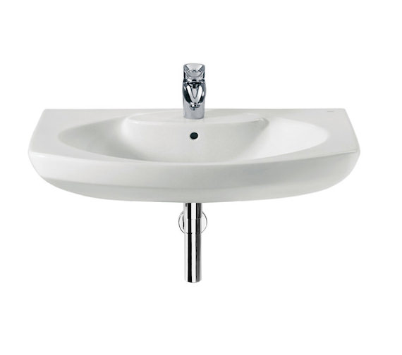 Roca Senso Wall Hung Basin With 1 Taphole 800 x 530mm