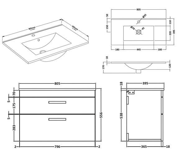 Technical drawing QS-V42364 / ATH069B
