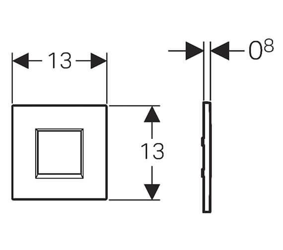 Technical drawing QS-V93573 / 116.037.KJ.1