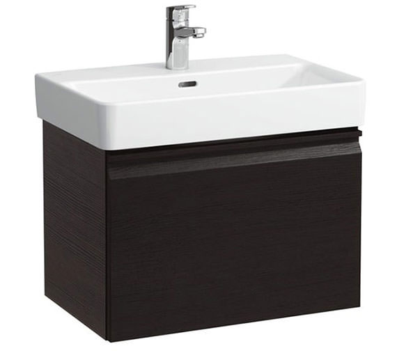 Laufen Pro 510mm Single Drawer Wenge Vanity Unit