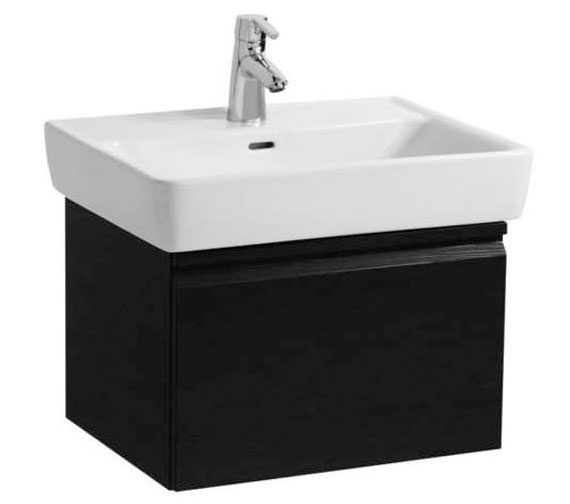 Laufen Pro 550mm Single Drawer Wenge Vanity Unit