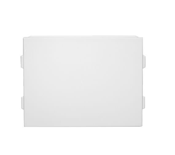 Roca Reinforced Tall Acrylic End Bath Panel 800mm White