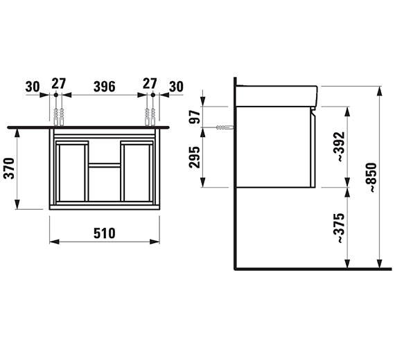 Technical drawing QS-V41978 / 830210954231