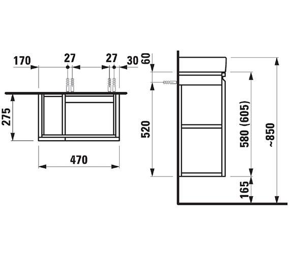 Technical drawing QS-V41969 / 830010954231