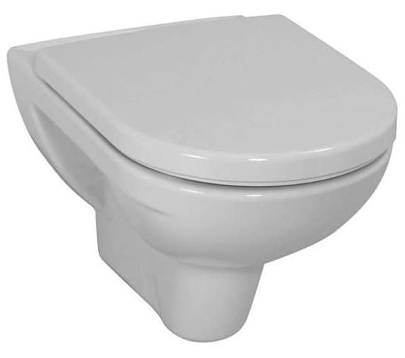 Laufen Pro White Wall Hung WC Pan 560mm Projection