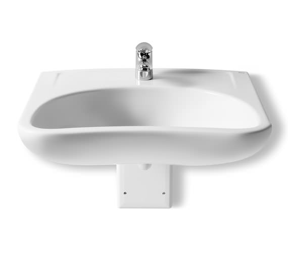 Roca Access 640 x 550mm Wall Hung Basin With 1 Tap Hole