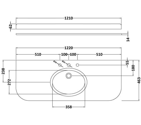 Technical drawing QS-V42385 / BAYC242