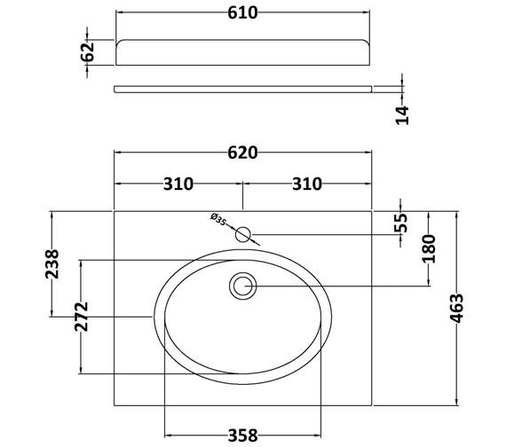 Technical drawing QS-V42386 / BAYC221