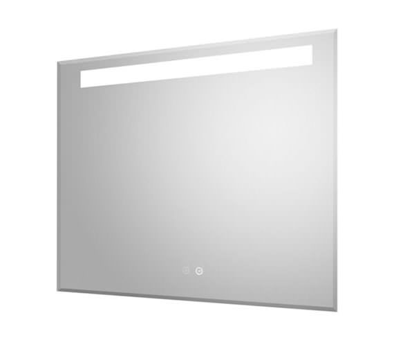 Hudson Reed Vizor 800 x 600mm LED Mirror Glass With Demister Pad