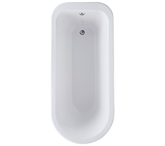 Bayswater Sutherland 1700 x 750mm Single Ended Freestanding Bath