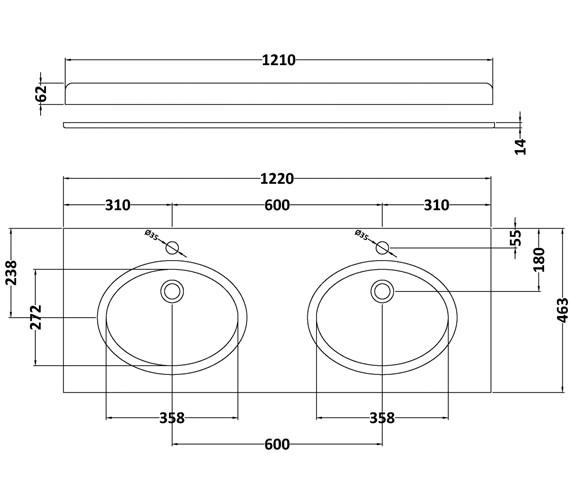 Technical drawing QS-V42382 / BAYC233