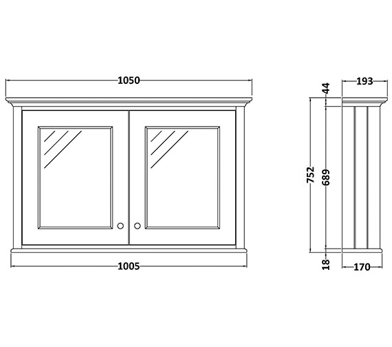 Technical drawing QS-V89188 / BAYF131