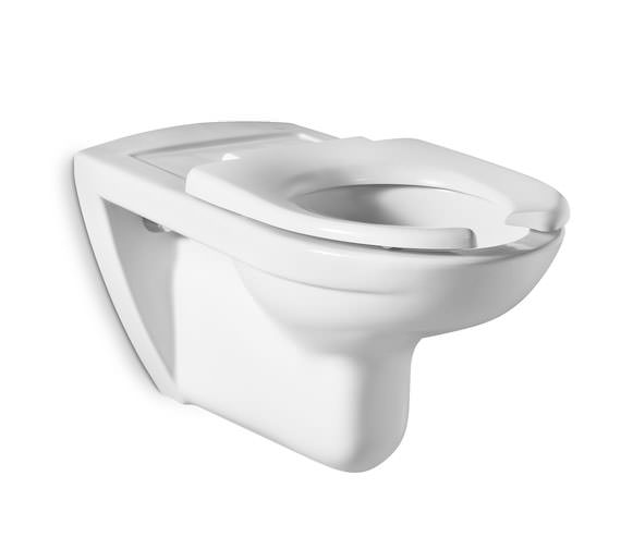Roca Access Wall-Hung WC Pan With Horizontal Outlet