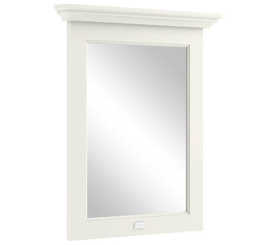 Bayswater 600mm Pointing White Flat Mirror