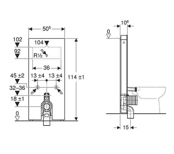 Technical drawing QS-V93588 / 131.033.SI.5