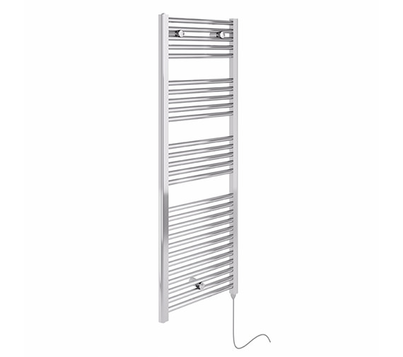 Essential Electric Chrome Towel Warmer 480 x 920mm