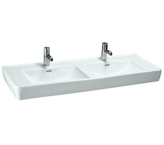 Laufen Pro A 1300 x 480mm Double Countertop Basin