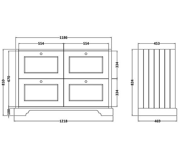Technical drawing QS-V89191 / BAYF112