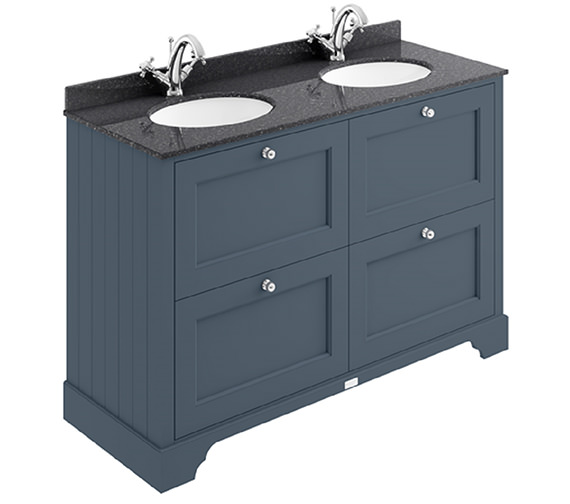 Additional image of Bayswater 1200mm Pointing White 4 Drawer Basin Cabinet
