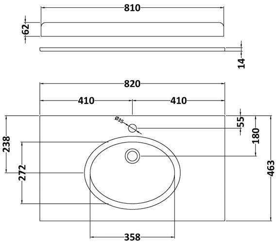 Technical drawing QS-V42388 / BAYC227