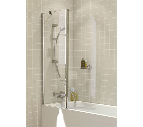 Lakes Classic Curved Hinged Bath Screen