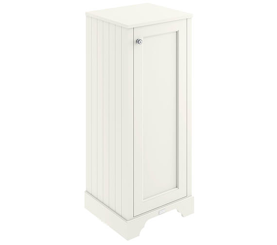 Bayswater 465mm Pointing White Tall Boy Cabinet