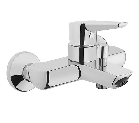 VitrA Solid S Wall Mounted Bath Shower Mixer Tap