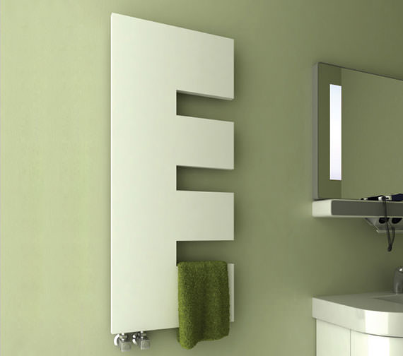 Reina Ella 500 x 1200mm Steel Designer Radiator White