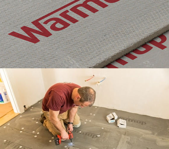 Alternate image of Warmup Cement Coated Insulation Board For Underfloor Heating