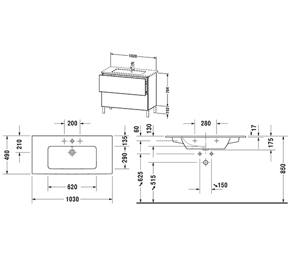 Technical drawing QS-V63352 / LC662701818